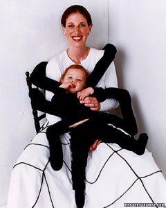 Disfarça o teu bebé de aranha