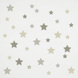 Vinil de estrelas cinzentas