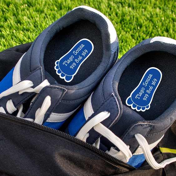 Etiquetas para calçado
