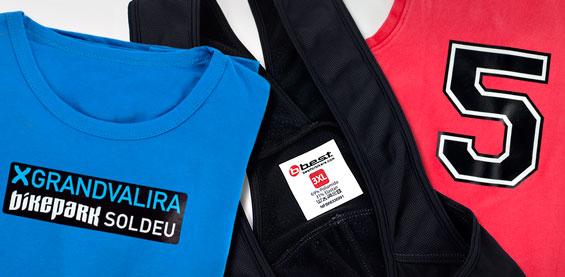 Cria Etiquetas para a tua roupa à medida com o teu logótipo ou desenho!