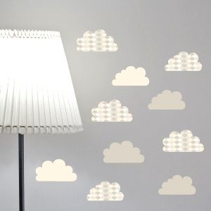 Vinil de nuvens cinzentas com textura