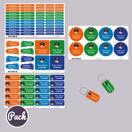 Pack Autocolantes