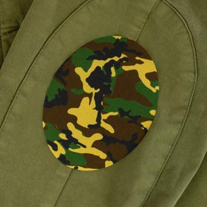 Remendo camuflagem para a roupa junior