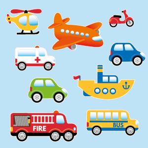 Autocolantes de transportes