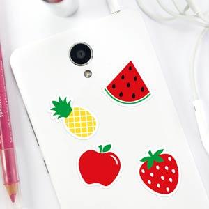 Autocolantes para telemóvel frutas