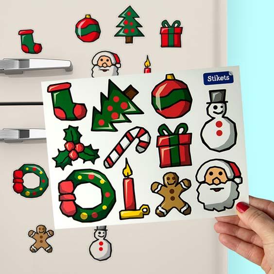 Vinil de decorações de Natal
