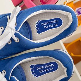 Etiquetas calçado